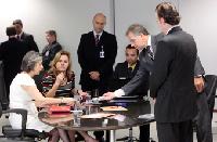 Cerimônia de Assinatura Digital e Lacração dos Sistemas Eleitorais. BrasiliaDF 06122012