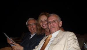 Com Paulo Affonso Leme Machado e Michel Prieur no Encontro de Juristas preparatório para a Rio + 20 em Limoges_França