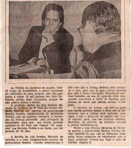 Criminal- Golpe da Casa Própria.  Jornal de Minas, 24-10-1981 Capa 1de2