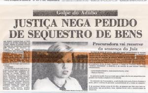 Criminal- Golpe do Adubo-Papel. zero Hora, agosto 1977