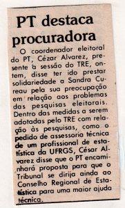 Eleitoral- Eleiçoes Gerais 1986 . Jornal do Comércio, 30-9-1986