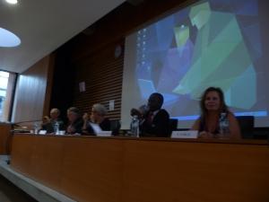 Limoges, 30 setembro de 2011 - palestrante no Encontro de Juristas Internacionais, preparatório para a Rio + 20.
