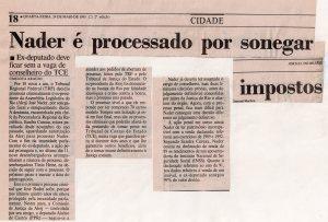 Patrimônio Público. Jornal do Brasil, 24-5-1995